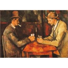 İkiKedi Puzzle The Card Players 2 x 500 Parça