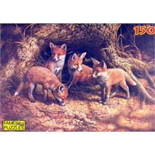 Fame 150 Parça Puzzle The Fox Family