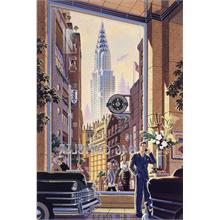 Schmidt 1000 Parça Puzzle Chrysler Building by Michael Young