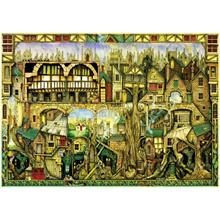 Schmidt 1000 Parça Puzzle Tree Houses Colin Thompson