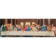 Masterpieces 1000 Parça Panoramik Puzzle The Last Supper