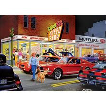 Masterpieces 1000 Parça Crazy Ed s Speed Shop Puzzle