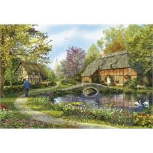 Educa 5000 Parça Puzzle Meadow Cottages