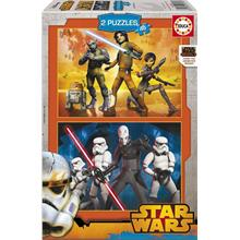 Educa 2x48 Parça Star Wars Rebels Puzzle