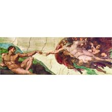 Eurographics Creation of Adam by Michelangelo 750 Parça Panorama Puzzle