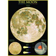 Eurographics 1000 Parça Bilimsel Puzzle Ay (The Moon)