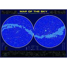 Eurographics 1000 Parça Bilimsel Puzzle Map of The Sky