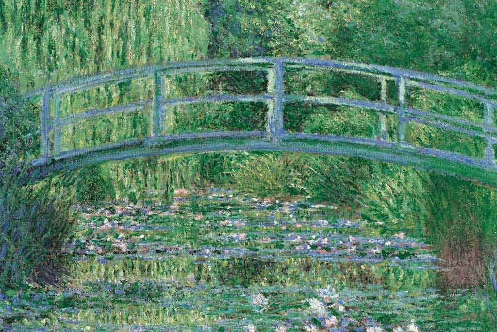 1000 Parça Clementoni Puzzle Water Lily Basin Green Harmony (Monet)