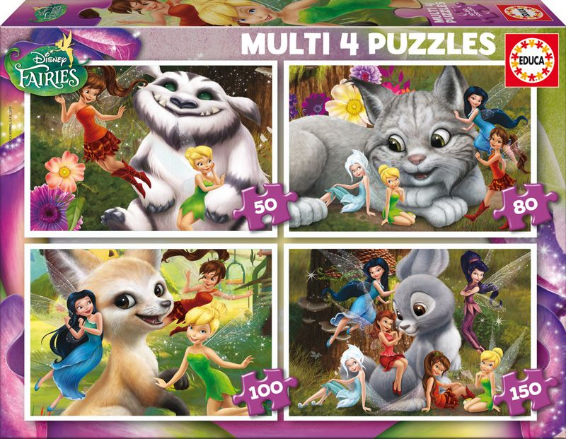Educa Puzzle Fairies