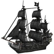 Cubic Fun 3D 308 Parça Puzzle The Queen Anne s Revenge