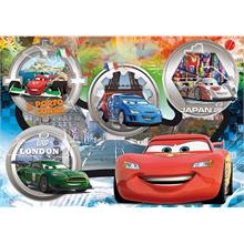 Clementoni 24 Parça Maxi Puzzle - Disney Cars The World Grand Prix