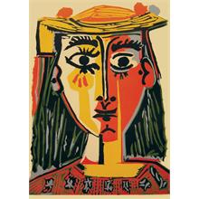 iF Puzzle 1000 Parça Woman With Hat Puzzle (Picasso)