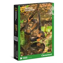 Clementoni Puzzle 39301 - National Geographic Şempanze