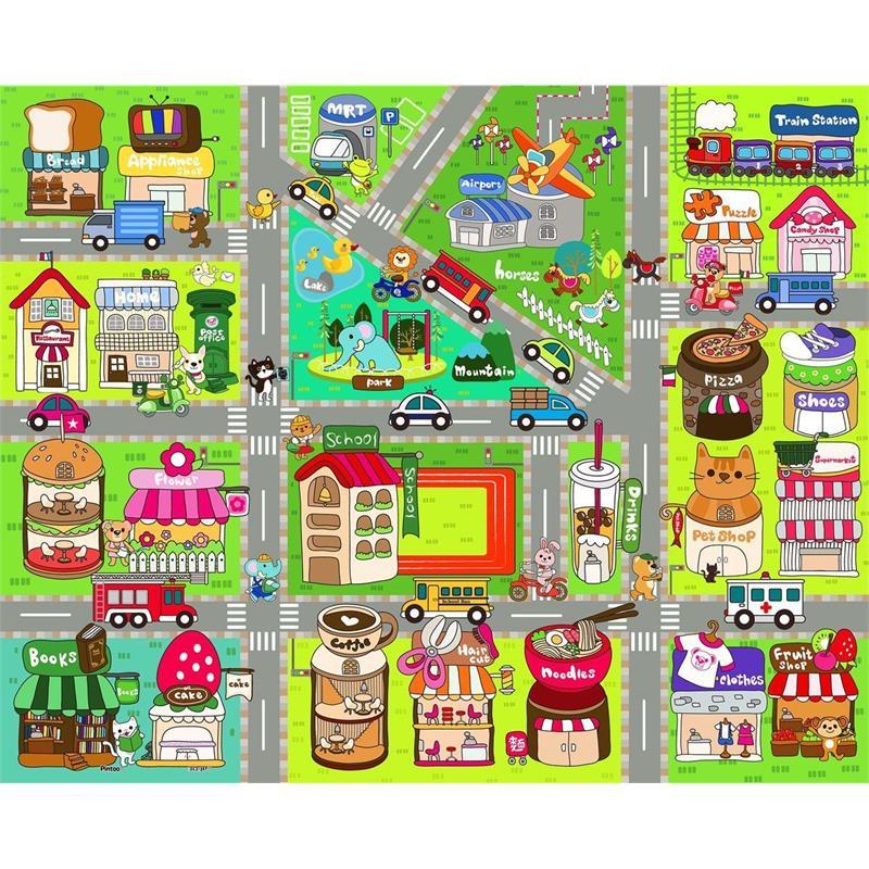 Pintoo 80 Par 231 A 199 Ocuk Puzzle Sevimli Sokak Haritası 31 8