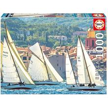 Educa 1000 Parça Sailing At Saint-Tropez Puzzle