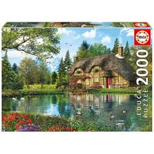 Educa 2000 Parça Lake View Cottage Puzzle (Dominic Davison)