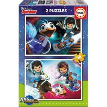 Educa 2x48 Parça Disney Junior Miles From Tomorrowland