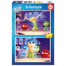 Disney Educa Puzzle 2x100 Parça Inside Out