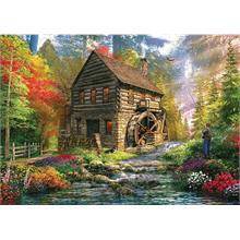 Ks Games 2000 Parça Mill Cottage Puzzle (Dominic Davison)