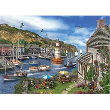 Ks Games 2000 Parça The Village Harbour Puzzle (Dominic Davison)