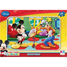 Ks Games 24 Parça Frame Puzzle Mickey Mouse Clubhouse