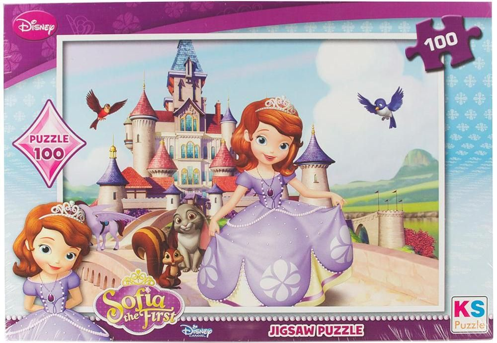 KS Games 100 Parça Yapboz Sofia the First