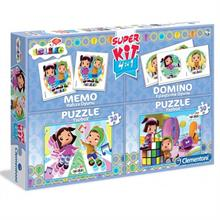 Clementoni Leliko Super Kit 4 in 1 Edubaby Puzzle