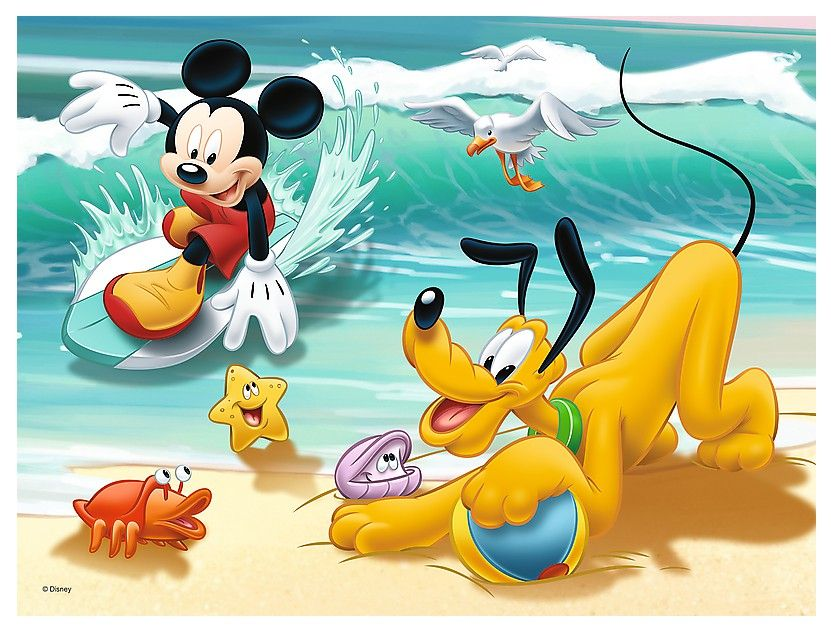 Trefl Mickey Mouse and Friends 30 Parça Puzzle