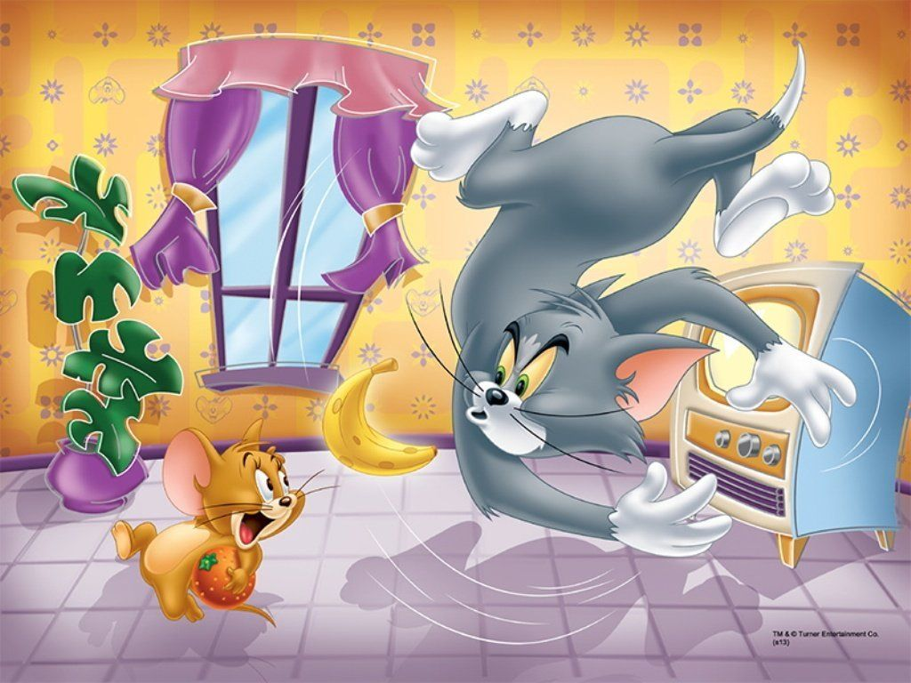 Trefl 30 Parça Tom and Jerry Puzzle