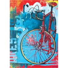 Heye 1000 Parça Puzzle - Red Limited - Bike Art
