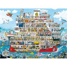 Heye 1500 Parça Cruise Puzzle (Anders Lyon)