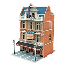 CubicFun West End Theatre 3D Puzzle (Jigspace Serisi)