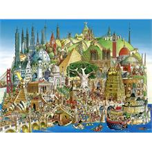 Heye 1500 Parça Global City Puzzle (Hugo Prades)