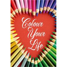 Educa 17081 - Colour Your Life 500 Parça Puzzle