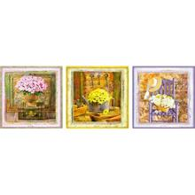 Educa 3x500 Parça Deco Puzzle - Enchanted Moments - Gail Marie