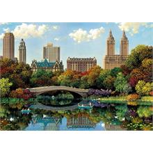 Educa 8000 Parça Puzzle - Central Park Bow Bridge