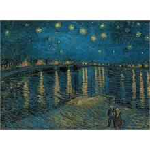 Clementoni 1000 Parça Puzzle Van Gogh - Starry Night Over the Rhone