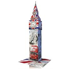 Ravensburger 216 Parça 3D Flag Edition Big Ben Puzzle