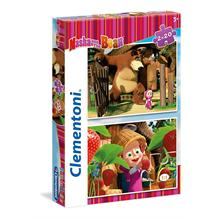Clementoni 2x20 Parça Masha And The Bear Puzzle