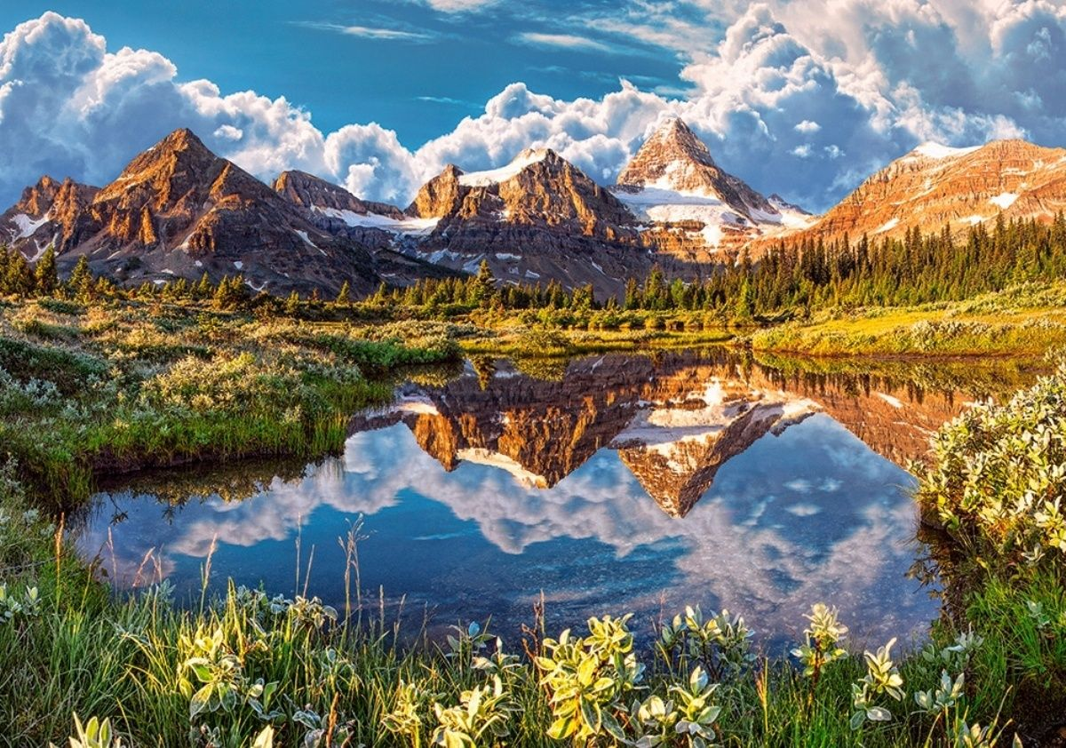 Castorland 500 Parça Mirror of the Rockies Puzzle