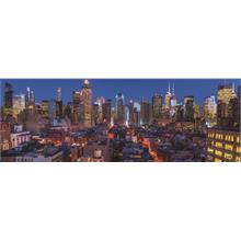 Jumbo 1000 Panorama Puzzle - New York Silueti