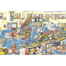 Jumbo Puzzle 1500 Parça The Printing Office (Jan van Haasteren)