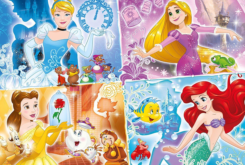 Clementoni Puzzle 250 Disney Princess Supercolor