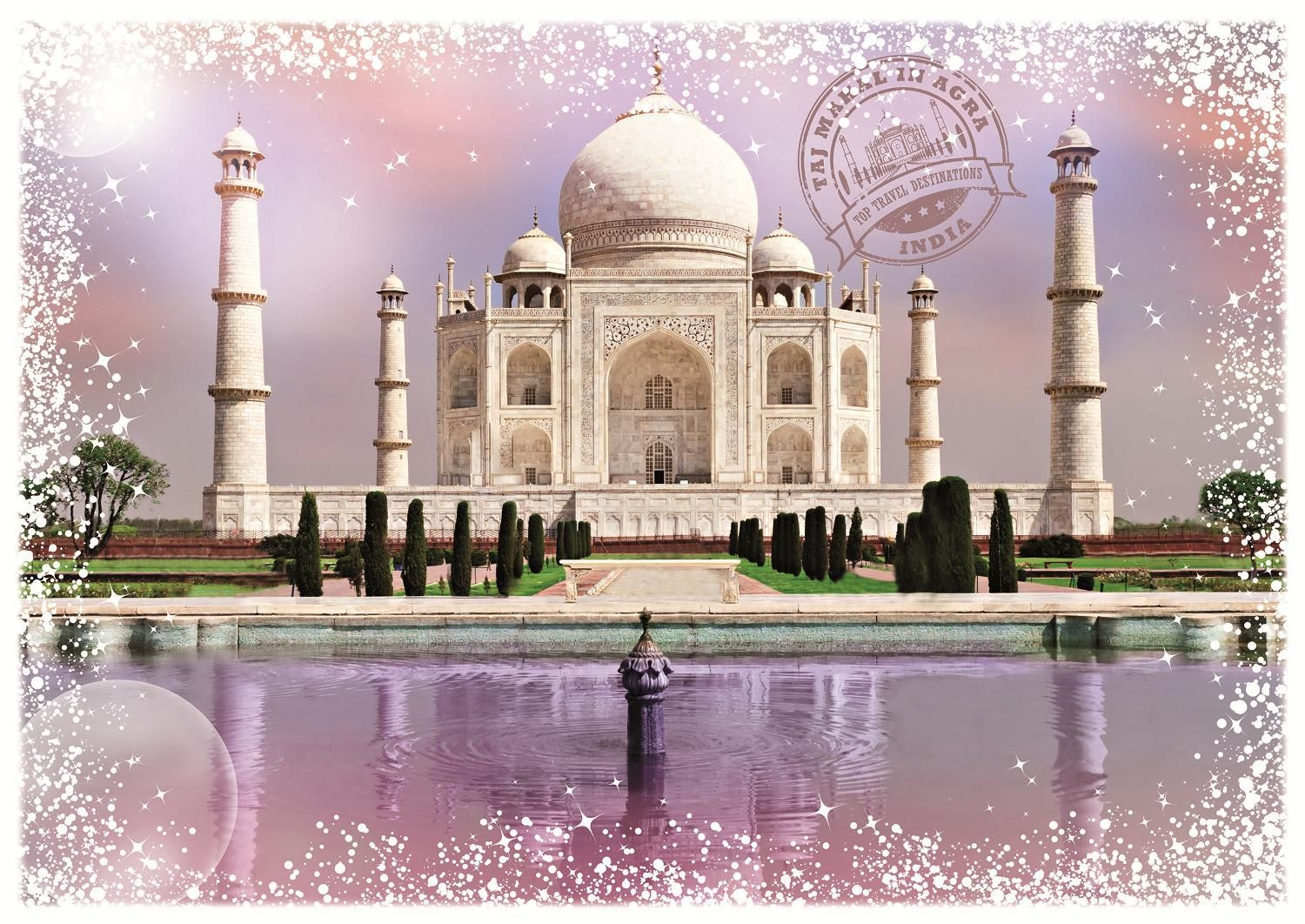 Grafika 2000 Parça Travel Around The World (India) Puzzle