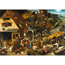 Grafika 2000 Parça The Dutch Proverbs 1559 Puzzle (Brueghel Pieter)