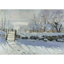 Grafika Puzzle 1000 - Claudio Monet: The Magpie 1868-1869