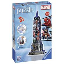 Ravensburger 3D Marvel Empire State Building (Plastik Puzzle)