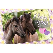 Sweet & Lovely We Love Horses - Trefl 260 Parça Puzzle