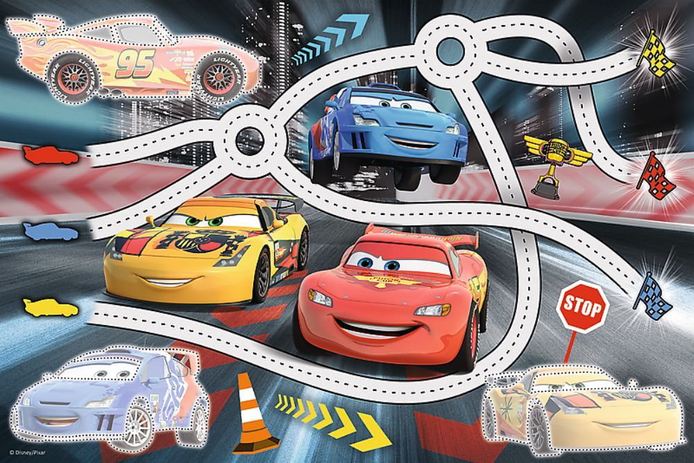 Trefl 70 Plus Puzzle Marker / Disney Cars 2