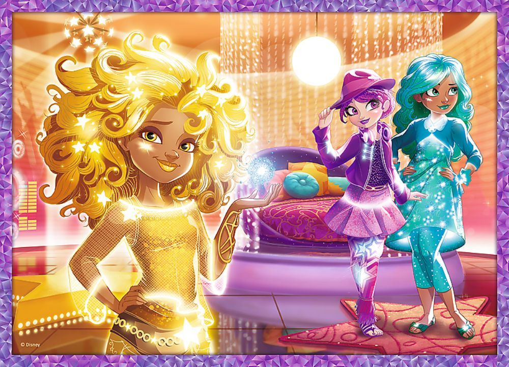 Trefl 4 lü Puzzle : Star Friends / Disney Star Darlings (35+48+54+70 Parça)
